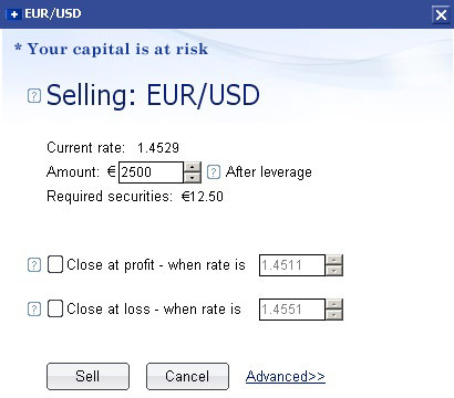 Plus500 euro verkopen